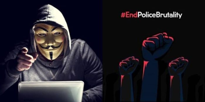 Anonymous Hacks Nigerian Police Database, Gives Buhari 72Hrs To Comply With #Endsars Demands Or Face Consequences