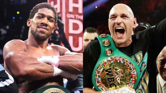 Anthony Joshua update on Tyson Fury's fight: June should be date
