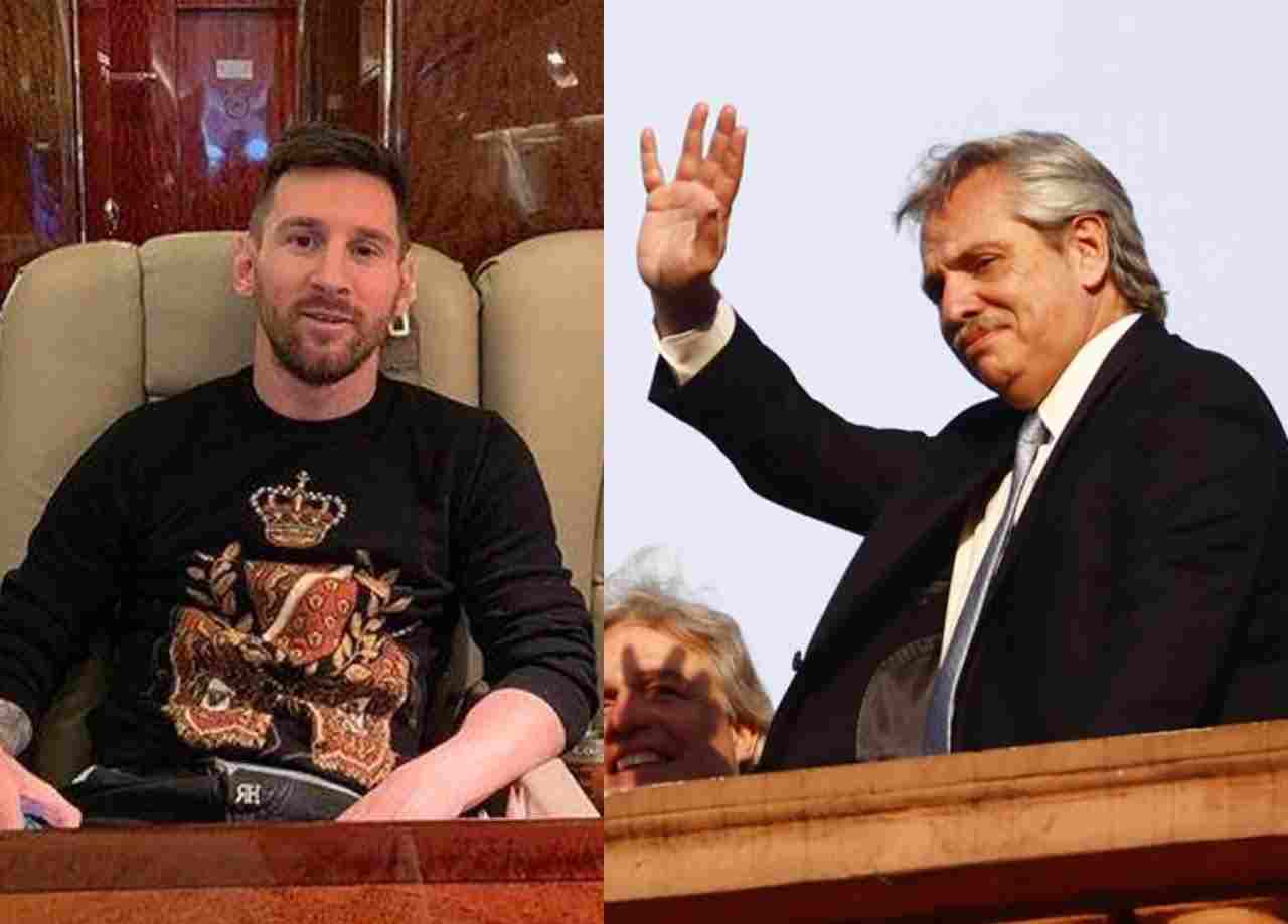 Argentina President, Fernandez leases Messi's Private Jet