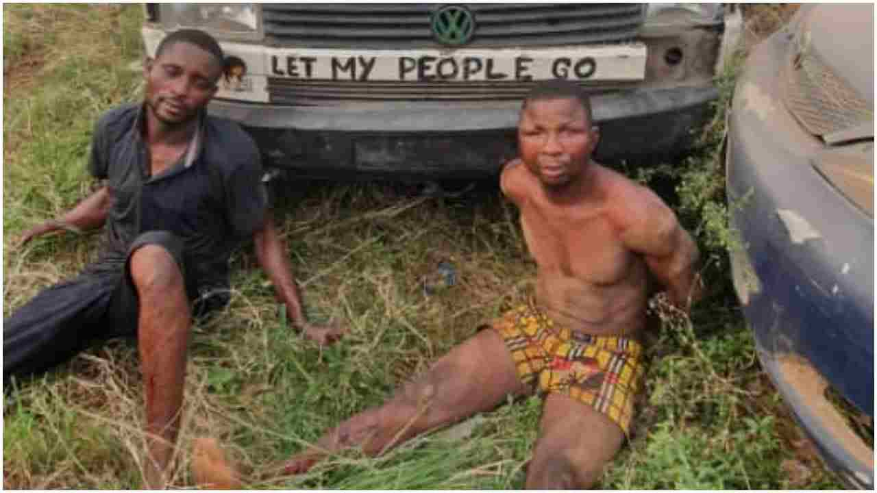 Armed robbers engage Police in gun battle on Lagos-Ibadan highway, Two nabbed