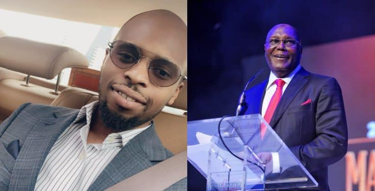 Atiku Abubakar and his Son Mustapha Banter over Arsenal FC Loss