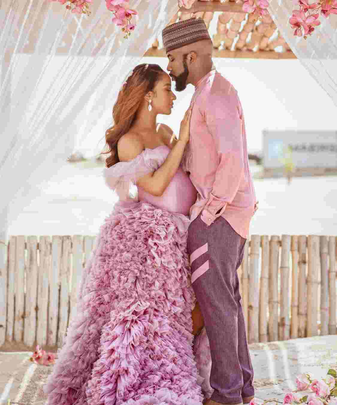 Banky W Releases Full Names Of Newborn Baby