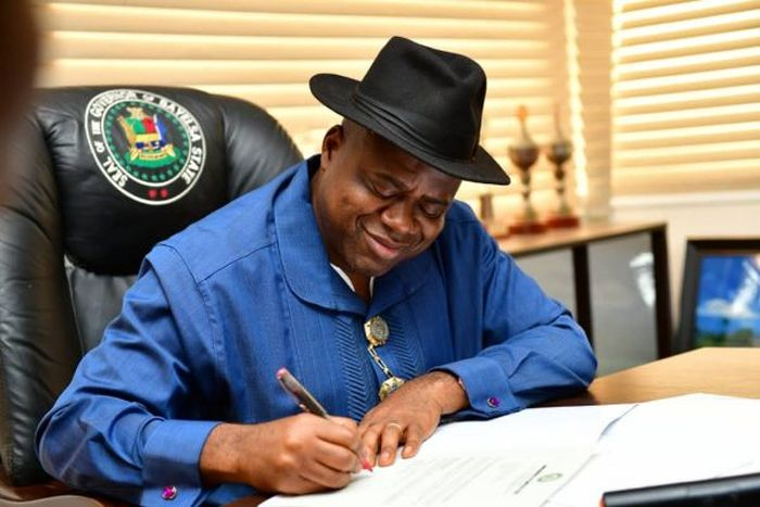 Bayelsa State Diri Swears In Igali, 24 Other Commissioners, SAs (See Full List)