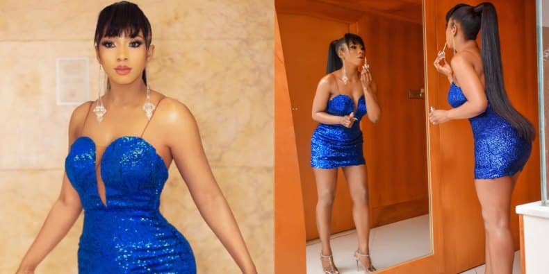 BBNaija2019 Winner, Mercy Steps Out For Her Victory Party In Lagos