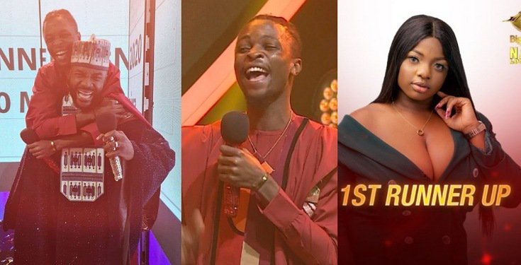 #BBNaija Finale: Laycon thanks Fans, Evicted Finalists say Goodbye, Lots more (Videos)