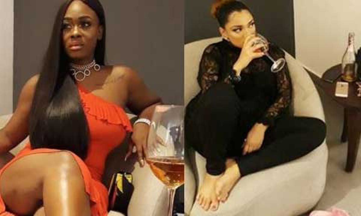 BBNaija stars, Uriel, Gifty reconcile after two years