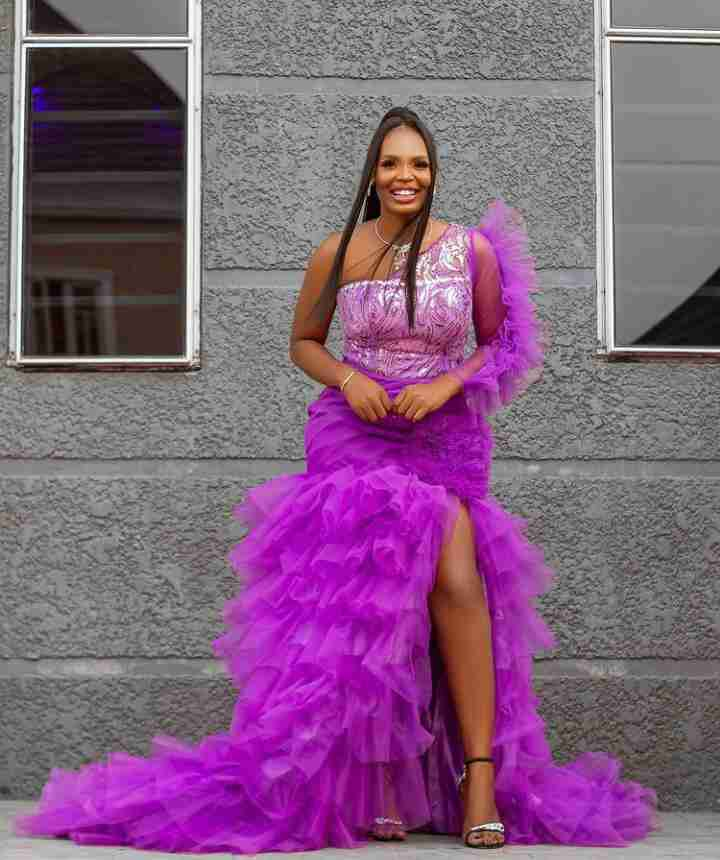 BBNaija's Kaisha dazzles in beautiful apparel as she celebrates 25th birthday (Photos)