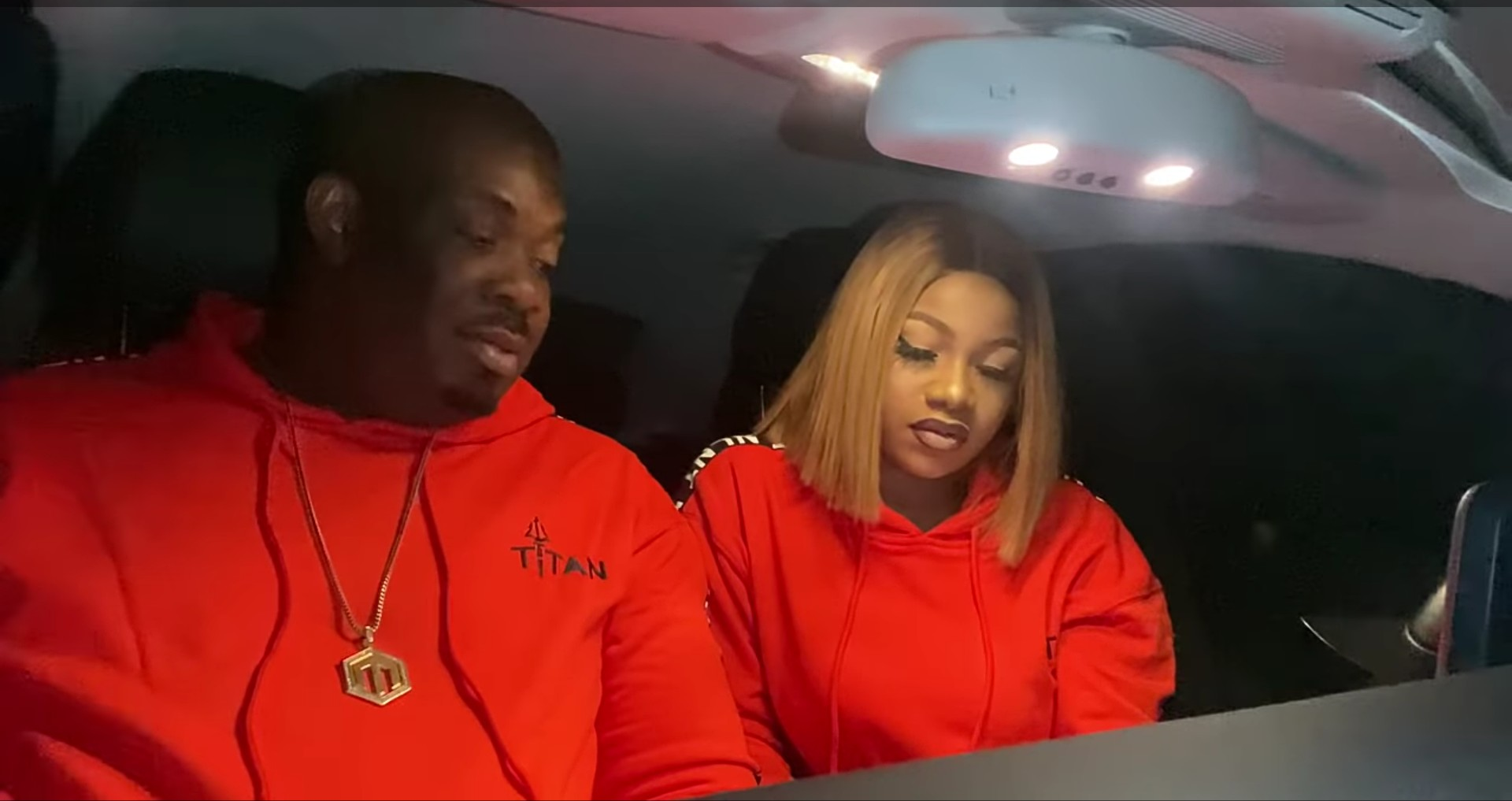 Bbnaija's Tacha Spotted Hanging out with Donjazzy