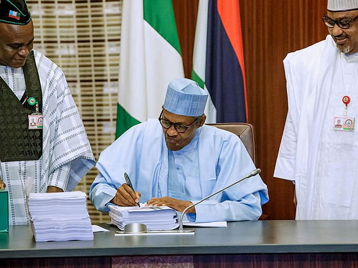 Be Patient With Any Law You Have Misgiving About – Buhari Tells Nigerians