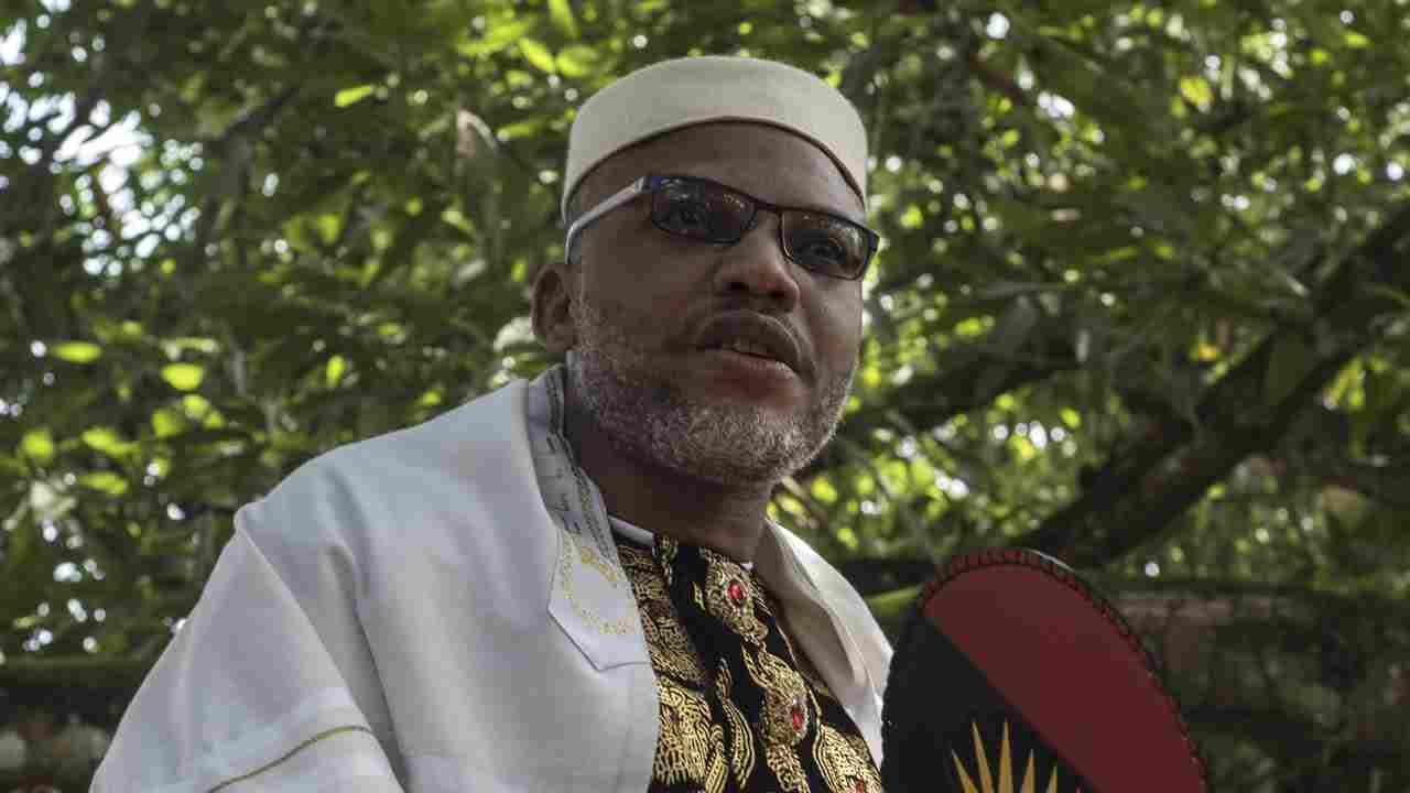 'Blocking foodstuff from North to South an act of War' - Nnamdi Kanu