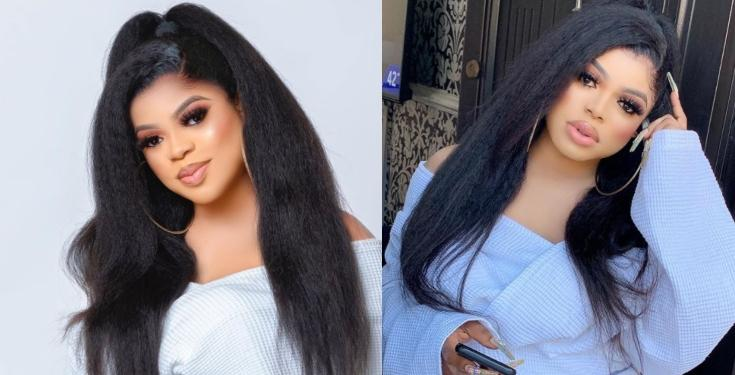 "I'll Hook Your Wife With A Fine Sugar Boy"" - Bobrisky Warns Cheating Married Men"
