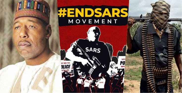 Boko Haram started as Youth Protests - Governor Zulum Pleads to #EndSARS Promoters