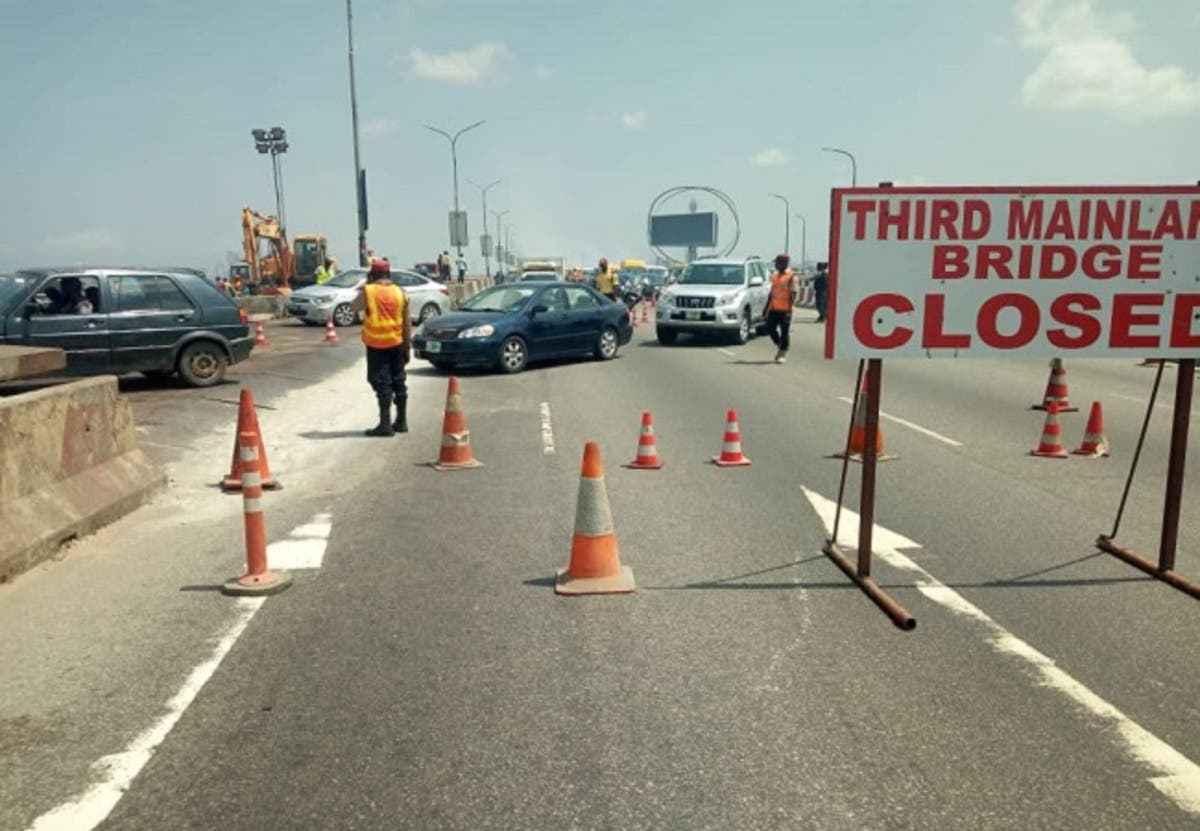 BREAKING: FG to Shut Down Third Mainland Bridge For 72hrs, Partially Close Ibadan-Expressway For 48hrs