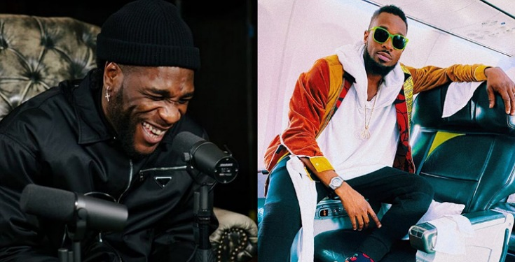 """Bring the Grammy Home"" - D'Banj tells Burna Boy"