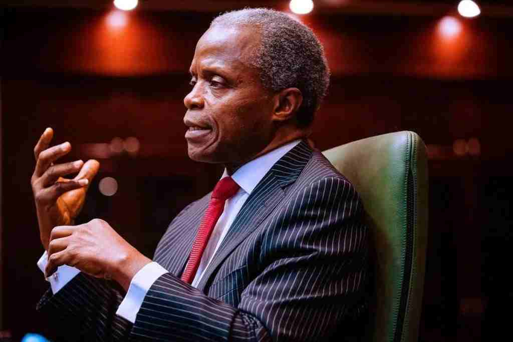 Buhari govt planning economy to include poor, vulnerable Nigerians - VP, Osinbajo