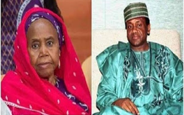 Buhari mourns as Abacha's younger sister dies