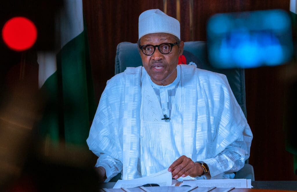 Nigeria@60: Buhari Presides Over Low-Key Independence Event At Eagle Square