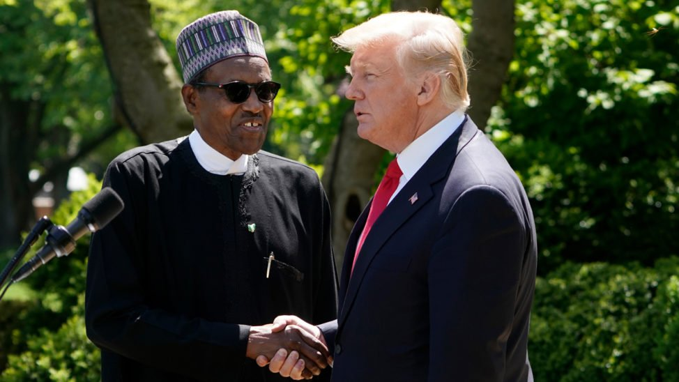 Buhari Wishes Trump, Melania Quick Recovery From COVID-19