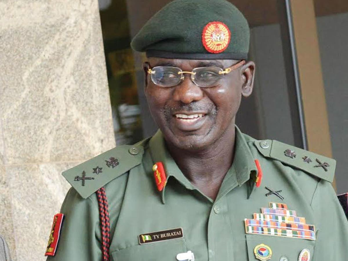 Buratai Reveals Shocking Details Between President Buhari And His Father
