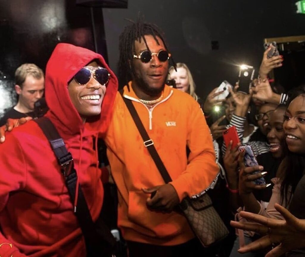 Burna Boy And Wizkid Both Nick Grammy Nominations