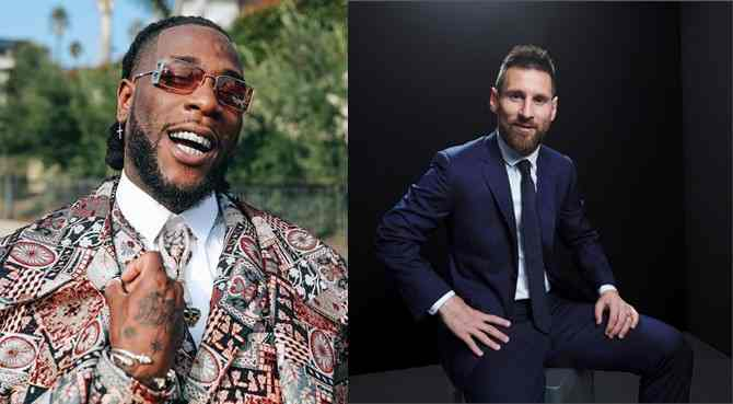 Burna Boy features alongside Messi, Pogba in Pepsi's new advert (Watch Video)