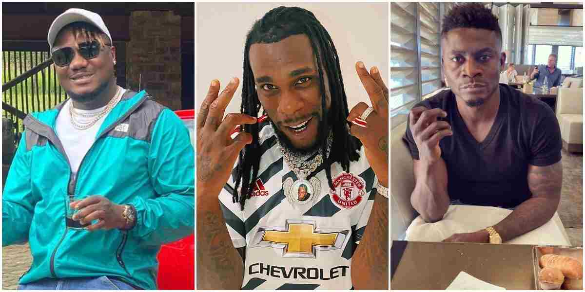 Read Full Gist About Burna Boy vs Obafemi Martins's fight, Here's all you need to Know