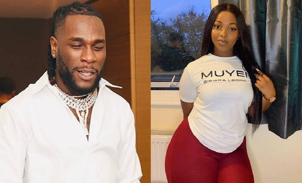 Burna Boy's Alleged Side-Chick, Jo Pearl calls Out His Girlfriend Stefflon Don