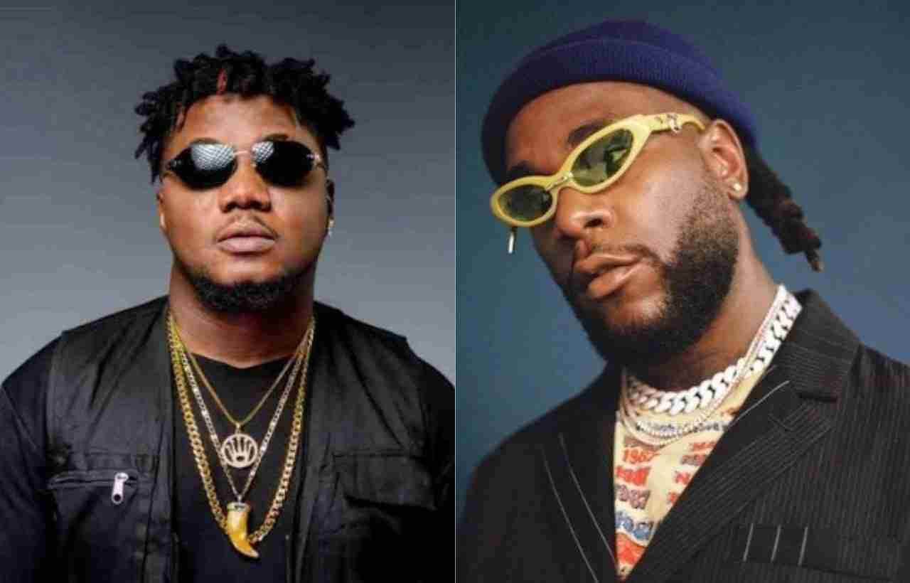 CDQ attacks Burna Boy for disrespecting Obafemi Martins