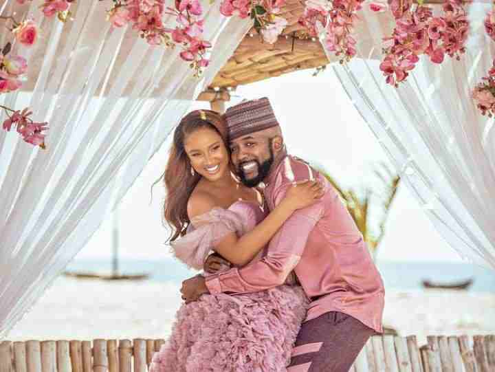 Celebrities React As Banky W And Adesua Welcome Their First Child