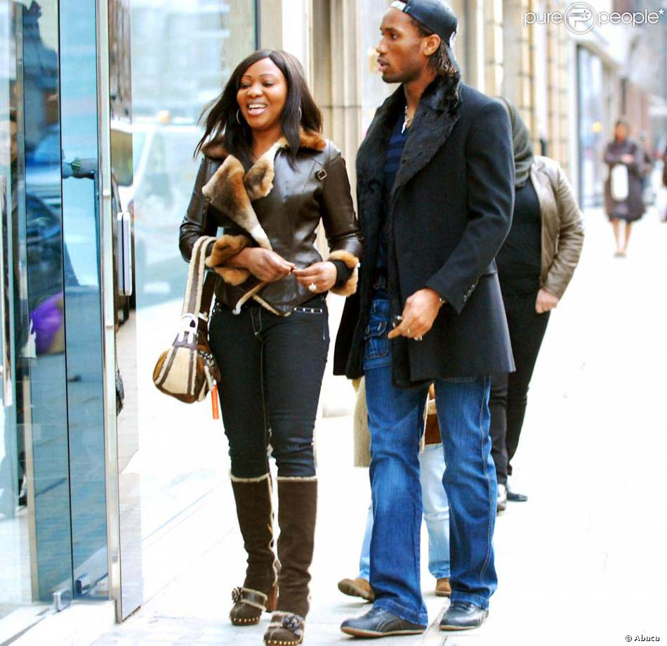 Chelsea And Ivory Coast Legend Didier Drogba And His Wife Split After 20 Years of Marriage
