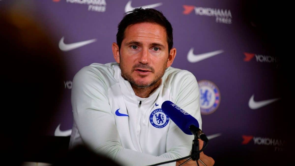 Chelsea vs Tottenham: Lampard warns his Players ahead of EPL Clash with Mourinho's Men