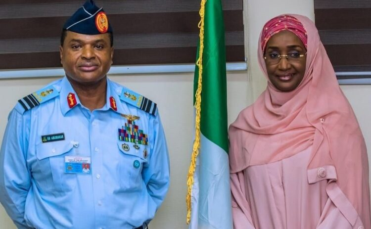 Chief Of Air Staff Marries Minister Sadiya Umar-Farouq