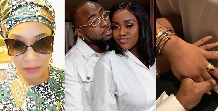 Chioma's Engagement Ring to Davido has been Taken Away from Her - Kemi Olunloyo