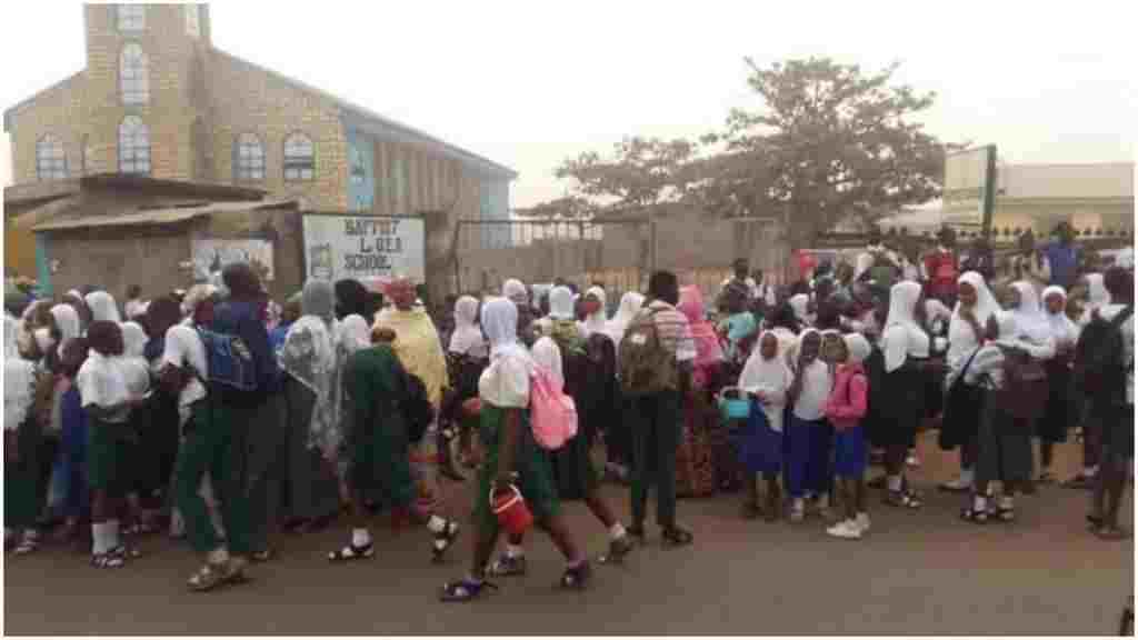 Christians vow to continue occupation of ten mission schools in Ilorin over hijab