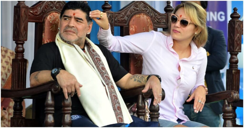 Confusion Rocks Maradona Funeral As His Ex Lover Was Banned From Attending His Wake