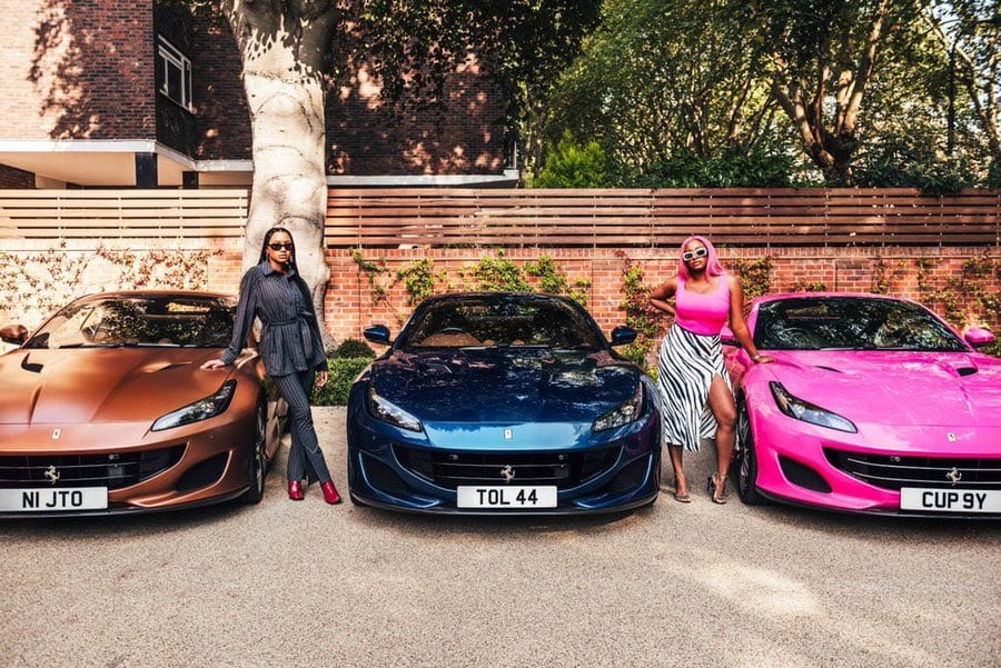 Cuppy, Tolani & Temi Receive Ferrari Gifts From Their Papa, Femi Otedola