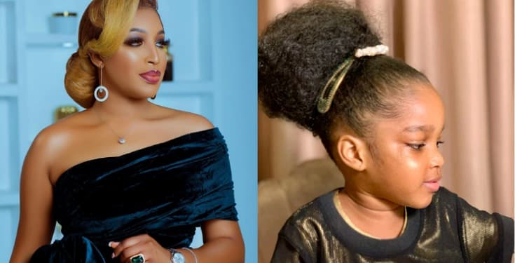 Dabota Lawson shares Lovely Photos of her Daughter, Reignah