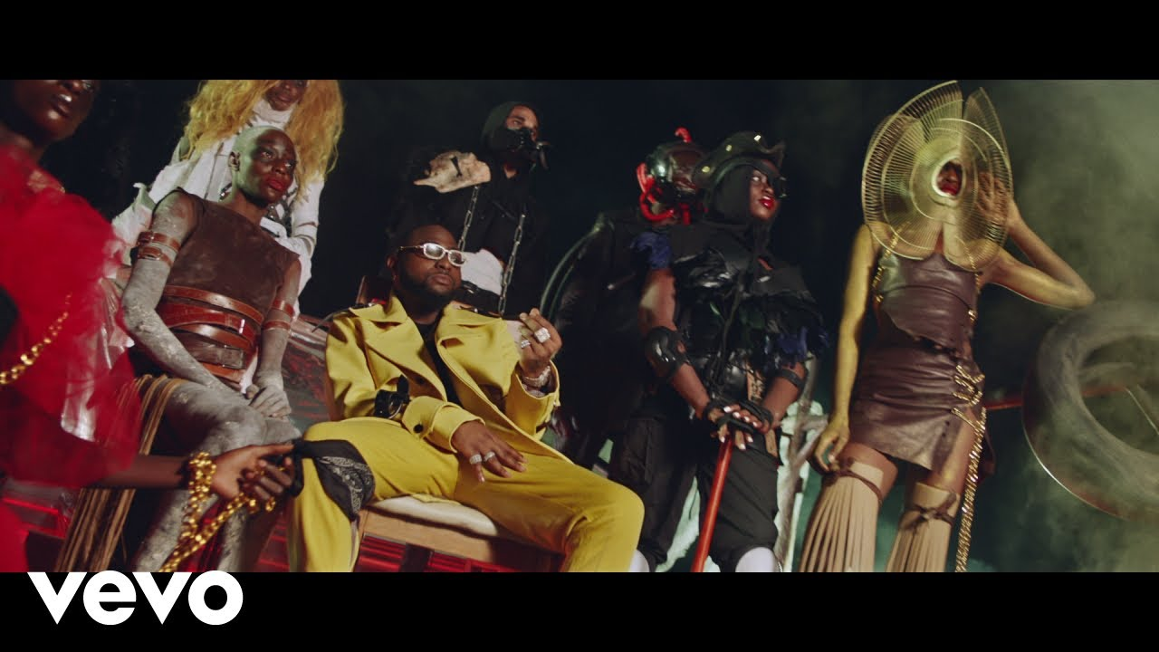 Davido Ft. Wurld, Naira Marley & Zlatan - Sweet in the Middle (Official Video)