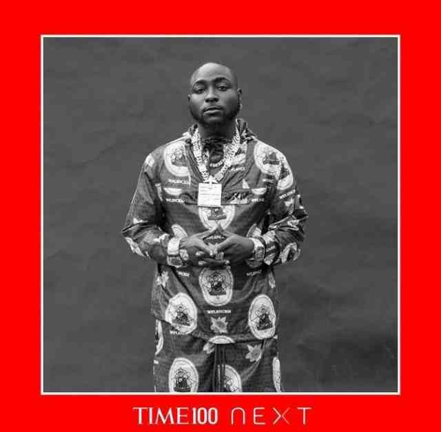 Davido named among 100 most influential people on earth by TIME Magazine