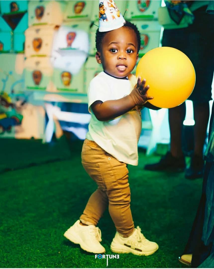 Davido shares lovely photo of his son