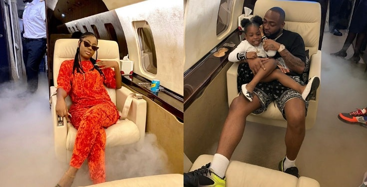 Davido shows Sophia Momodu Love, Takes her on Vacation to Ghana (Photos)