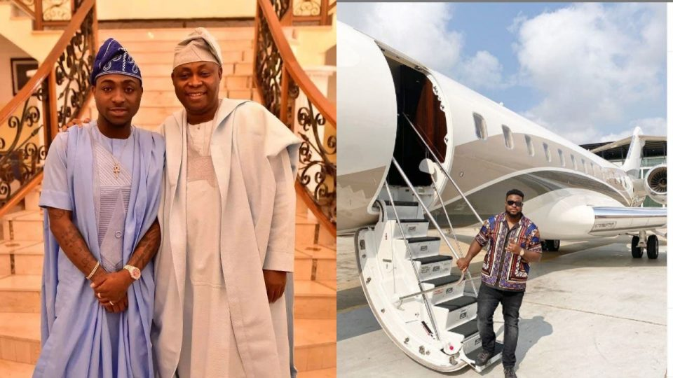 Davido's Father, Adedeji Adeleke Acquires Another Luxurious Private Jet