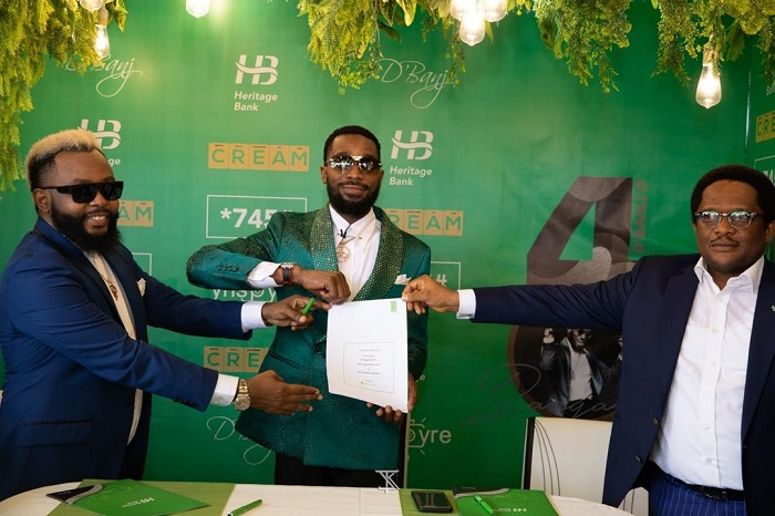 D'Banj bags Endorsement with Heritage Bank