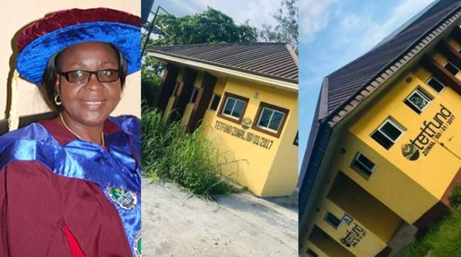 Delta State College Of Education Provost Builds 2 Toilets For N36 Million (Photos)