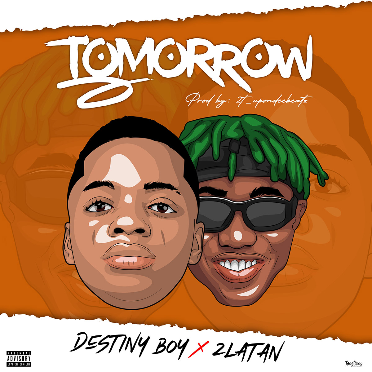 Destiny Boy Ft. Zlatan - Tomorrow (Prod. By 2TBoyz)