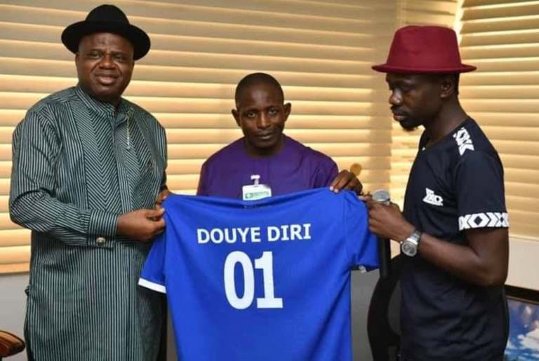 Diri directs immediate constitution of board for Bayelsa Utd, Bayelsa Queens FCs