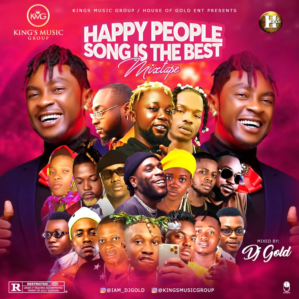 DJ Gold - Happy People Song Mixtape 2020