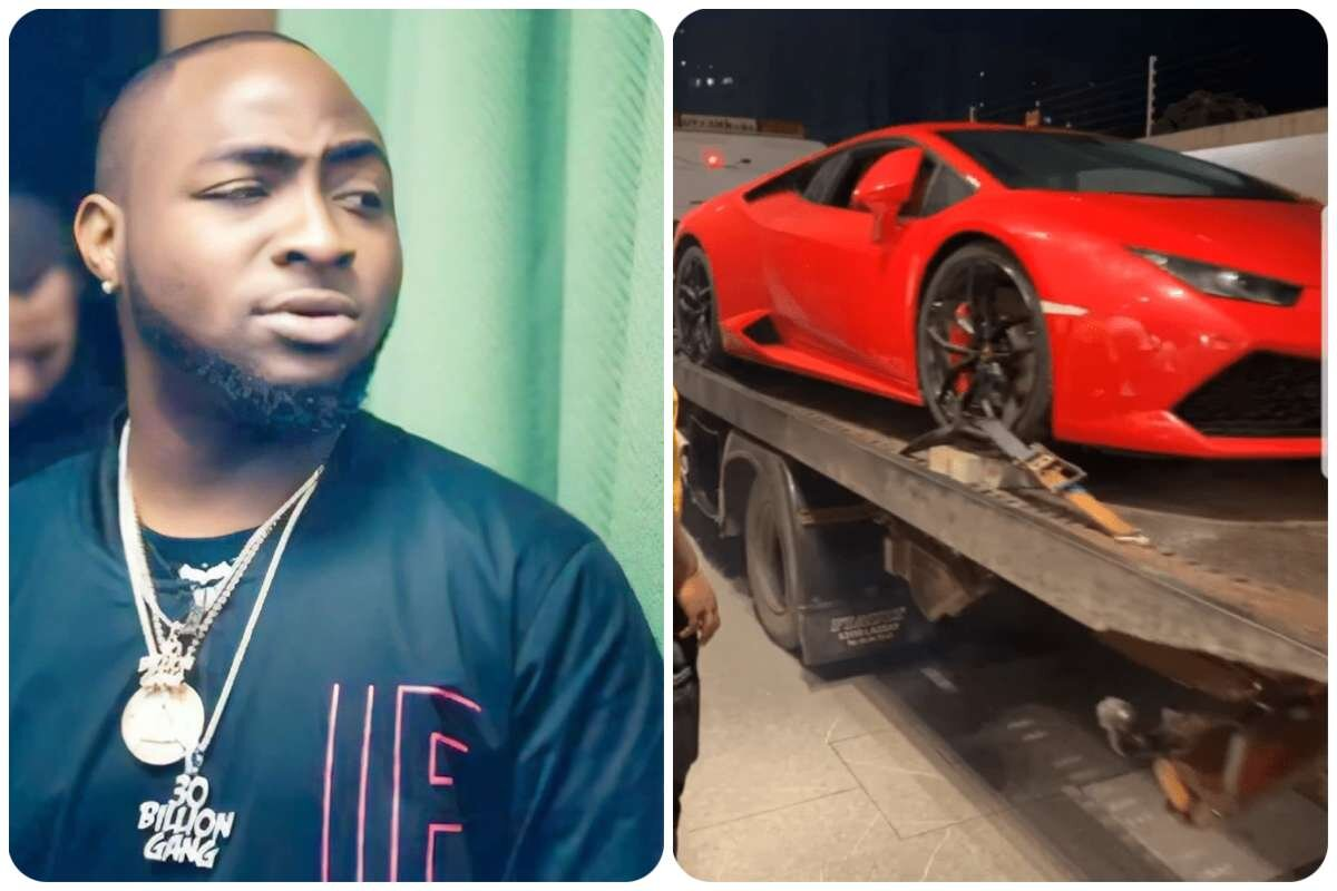 DMW CEO, Davido Acquires a New Lamborghini