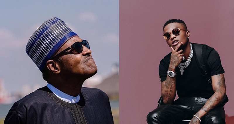 """Donald Trump isn't your Business. Face your Country"" - Wizkid blasts President Buhari"