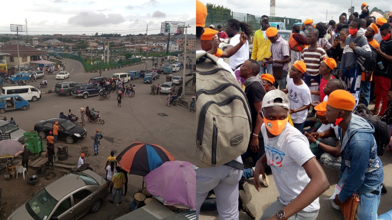 DSS Allegedly Brutalizes Revolution Now Movement Protesters